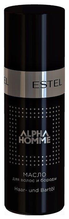 5. Alpha Homme Масло для волос и бороды