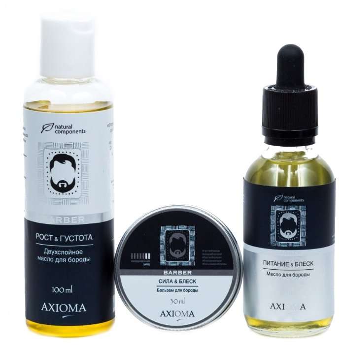 3. Axioma Набор для бороды и усов Расти Борода