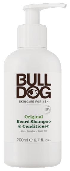 5. BULLDOG Шампунь и кондиционер для бороды Original Beard Shampoo and Conditioner