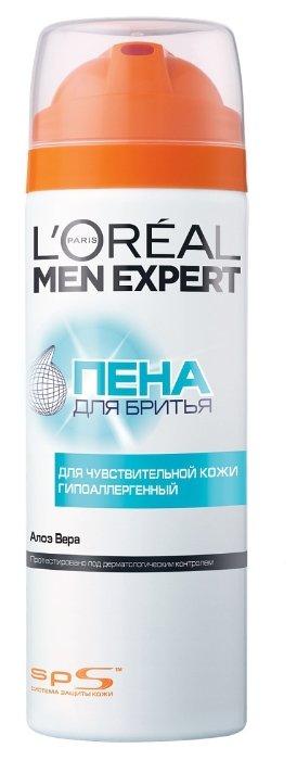1. Пена для бритья для чувствительной кожи гипоаллергенная L'Oreal Paris