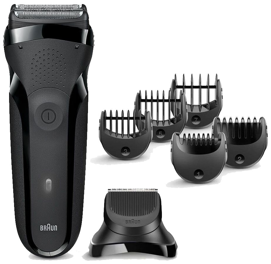 2. Braun 300BT Series 3 Shave&Style - точность и мягкость
